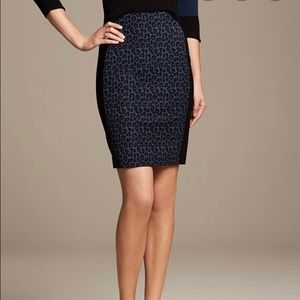 Rouland Mouret for Banana Republic pencil skirt